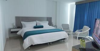 Hotel Altamar - קרטחנה דה אינדיאס - חדר שינה