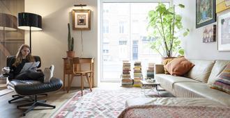 Townhouse Designhotel Maastricht - Mastrique - Sala de estar