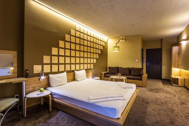 西蒙娜藝術酒店 - 索菲亞 - 索菲亞 - 臥室