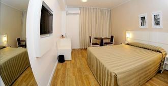 Plaza Sao Rafael Hotel - Porto Alegre - Camera da letto