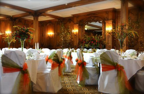 Classic Lodges - The White Swan - Alnwick - Banquet hall