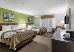 Sleep Inn & Suites - College Station - Bedroom