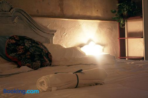 巴塞羅那住宿藝術賓館 - 巴塞隆納 - 臥室