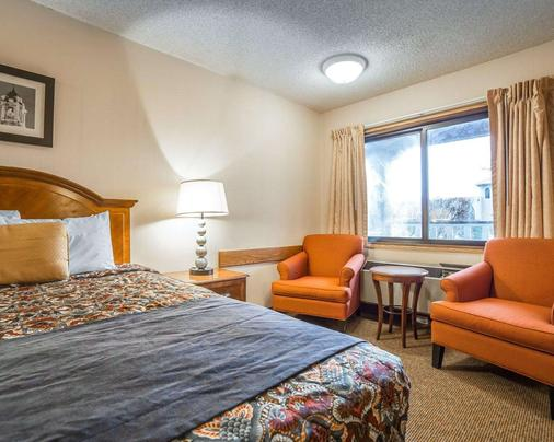 Rodeway Inn - Baker City - Schlafzimmer