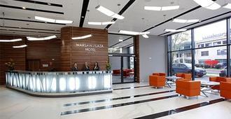 Warsaw Plaza Hotel - Warszawa - Reception