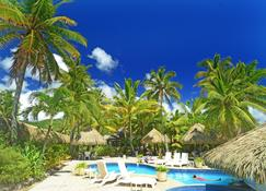 拉羅俱樂部度假村 - 拉洛東加 - 拉羅東加島 - 游泳池
