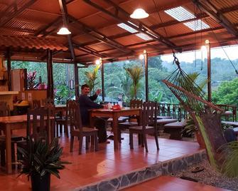 Cabinas Pura Vida Bed & Breakfast - Agujitas de Drake - Restaurante