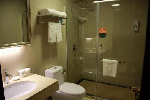 Greentree Inn Shanghai Longwu Road Express Hotel - Shanghai - Bathroom