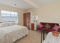 Large Studio Apartment With Air-Conditioning & Patio - Westerhall - Bedroom