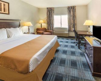 溫哥華購物中心戴斯套房酒店 - 溫哥華 - 溫哥華 - 臥室