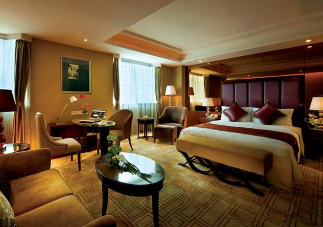 Chengdu Tianfu Sunshine Hotel - Chengdu - Bedroom