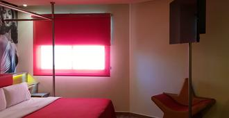 Hotel Hollywood - מקסיקו סיטי - חדר שינה