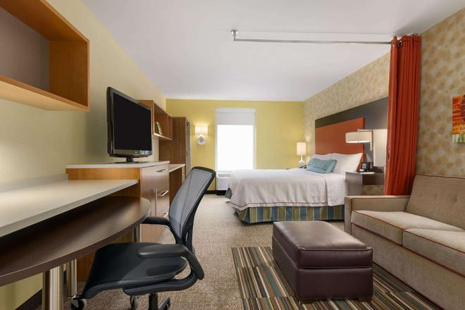 Home2 Suites by Hilton Charlotte I-77 South, NC - Charlotte - Bedroom