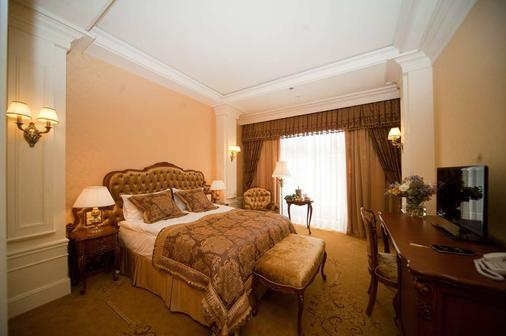 諾比利斯酒店 - 利沃夫 - 利沃夫 - 臥室