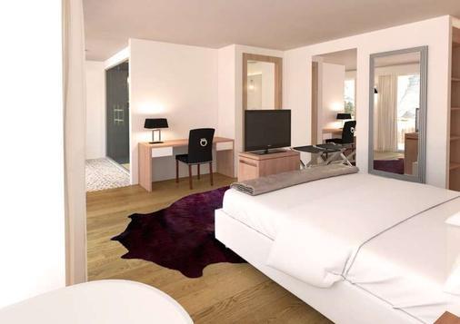 Hotel Matthiol - Zermatt - Makuuhuone