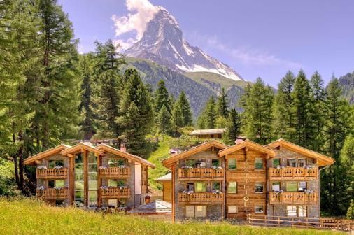 Hotel Matthiol - Zermatt - Rakennus