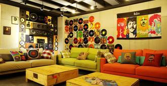 Nys Loft Hotel - Taipei City - Living room