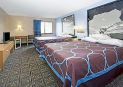 Super 8 by Wyndham Fort Collins - Fort Collins - Bedroom