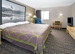 Super 8 by Wyndham Fort Collins - Fort Collins - Bedroom