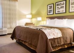 Sleep Inn and Suites Metairie - Metairie - Bedroom
