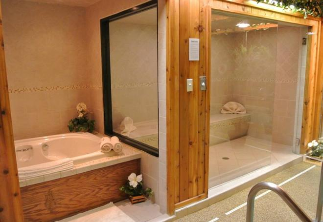 Sybaris Pool Suites Northbrook - Adults Only - Northbrook - Baño