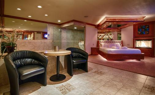 Sybaris Pool Suites Northbrook - Adults Only - Northbrook - Wohnzimmer