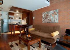 Park Plaza Apart Hotel - Santiago de Chile - Pokój dzienny