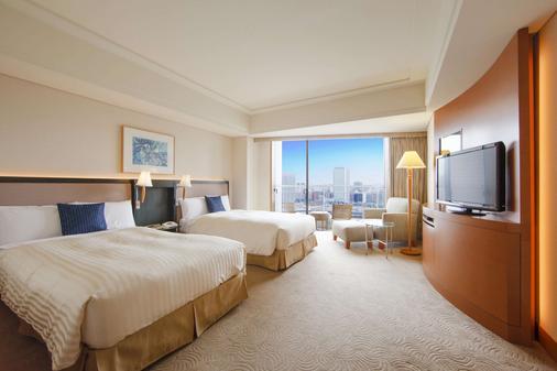 橫濱灣東急大酒店 - 橫濱 - 臥室