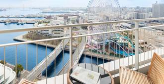 ذا يوكوهاما باي هوتل طوكيو - يوكوهاما - شرفة