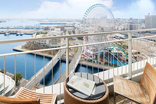 The Yokohama Bay Hotel Tokyu - Yokohama - Ban công