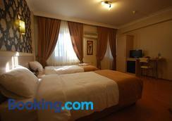 Mini Fuar Hotel - İzmir - Yatak Odası