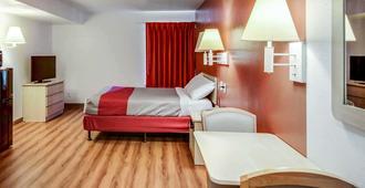 格林斯波羅機場 6 號汽車旅館 - 格林斯波羅 - 格林斯伯勒(北卡羅來納州) - 臥室