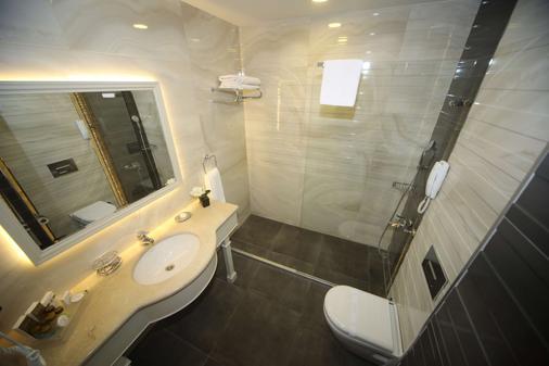 Bilek Istanbul Hotel - Istanbul - Phòng tắm