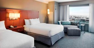 Courtyard by Marriott Indianapolis Downtown - Indianapolis - Schlafzimmer