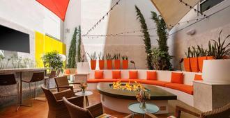 聖地亞哥市中心萬豪廣場套房酒店 - 聖地亞哥 - 餐廳