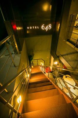 648飯店 - 首爾 - 階梯