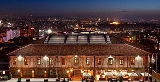 Divan Cukurhan - Ankara - Byggnad