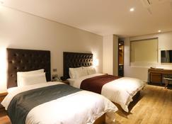 Best In City Hotel - Busan - Slaapkamer