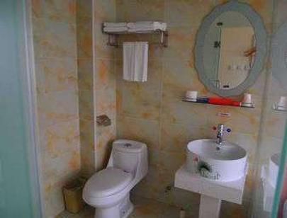 Super 8 By Wyndham Beijing Tongzhou Jiukeshu - Beijing - Bathroom