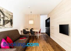 Alpen Select Apartments Kleinwalsertal - Mittelberg - Salon