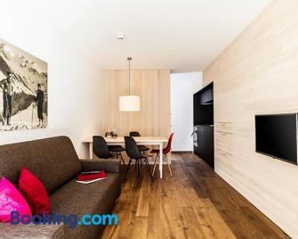 Alpen Select Apartments Kleinwalsertal - Mittelberg - Sala de estar
