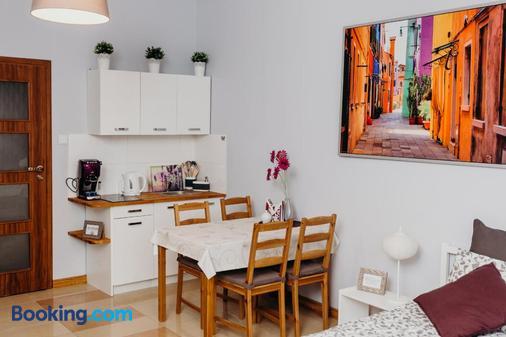 Grey Apartments II - Wroclaw - Dining room