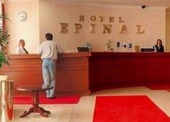 Hotel Epinal Spa And Casino - Μπίτολα - Ρεσεψιόν