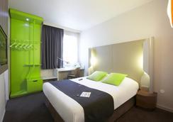 鐘樓里昂中央酒店 - 帕特迪約車站 - 里昂 - 里昂 - 臥室