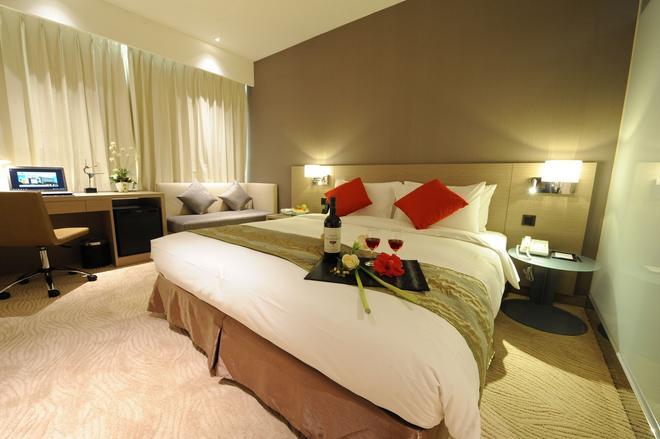 Kaohsiung International Plaza - Kaohsiung - Bedroom
