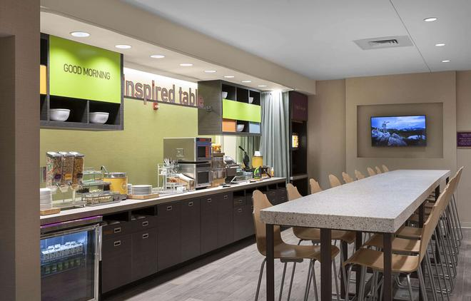 Home2 Suites by Hilton Greenville Airport - Greenville - Buffet