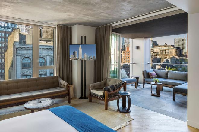 瑪德飯店 - 紐約 - 客廳