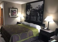 Super 8 by Wyndham Pascagoula - Pascagoula - Schlafzimmer