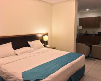 amwaj yanbu residential units - Янбу - Bedroom