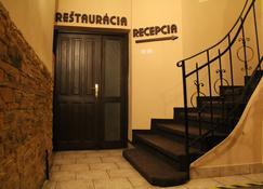 City center - Košice - Escaleras